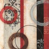 Circular II Poster von Barbara Burnside