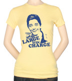 Juniors: Charles in Charge-Large&In Charge T-shirts