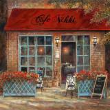 Café Nikki Art by Ruane Manning