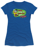 Juniors: Mighty Mouse-Here I Come T-Shirt