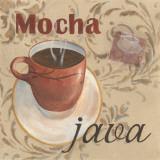 Mocha Java Poster by Paige Davis