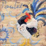 Royale Rooster IV Prints by Paul Brent