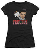 Juniors: Elvis-Trouble Shirts