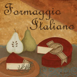 Formaggio Italiano Art by Jane Carroll