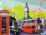 Londres Posters par  Tandem