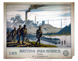 British Industries, Coal, LMS, c.1924 Posters