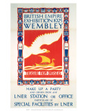 British Empire Exhibition, LNER, c.1925 Prints