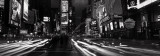 View Along Times Square at Night, New York Posters by David Noton