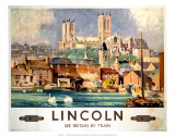 Lincoln, BR, c.1948-1965 Affiches