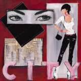 City I Art by  Johanna