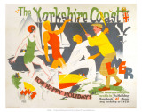 The Yorkshire Coast, LNER, c.1930 Print