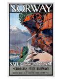 Norwegian State Railways Prints