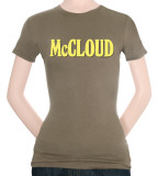 Juniors: McCloud-Logo Shirts