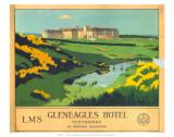 Gleneagles Hotel, LMS, c.1924-1947 Print