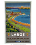 Largs, BR, c.1950s Poster