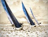 Racing Waters II Plakater av Alan Hausenflock
