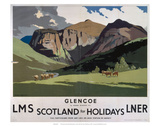 Glencoe, LMS/LNER, c.1923-1947 Prints