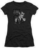 Juniors: James Dean-Mischevious Large T-shirts