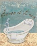 Parisian Bath II Prints by Paul Brent