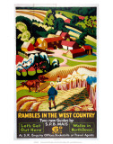 Rambles in the West Country, SR, c.1938 Poster