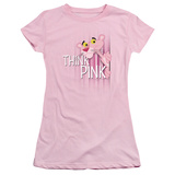 Juniors: Pink Panther - Think Pink T-Shirt