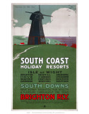 South Coast Holiday Resorts, LBSCR, c.1915 Art