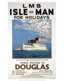 Isle of Man for Holidays, LMS, c.1923-1947 Posters by Norman Wilkinson