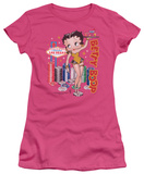 Juniors: Betty Boop-Wet Your Whistle Shirt
