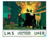 Lanarkshire Steel Works, LMS/LNER, c.1935 Posters