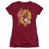 Juniors: Justice League America-Flash Collage T-shirts