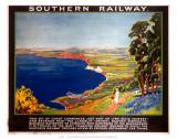 The Dorset Coast, SR, c.1923 Poster