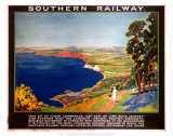 The Dorset Coast, SR, c.1923 Poster