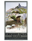 Yorkshire Dales, LNER, c.1923-1947 Prints