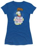 Juniors: Garfield-Will Eat Homework T-Shirt