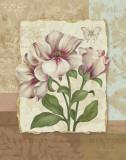Flower Trio II Affiche par Pamela Gladding