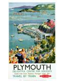 Plymouth, British Railways, ca. 150, Englisch Poster