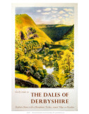 The Dales of Derbyshire, BR (LMR), c.1950s Poster