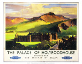 The Palace of Holyroodhouse, British Railways, c.1955 Art