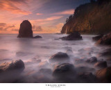 Timeless Shore Print by Marc Adamus