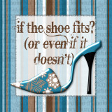 Girly Shoe II Poster by Sylvia Murray
