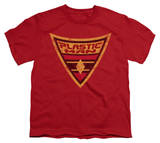 Youth: Batman BB-Plastic Man Shield Shirts