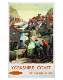 Yorkshire Coast, BR, c.1948-1965 Poster
