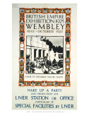 British Empire Exhibition, LNER, c.1925 Print