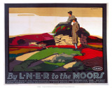 By LNER to the Moors, LNER, c.1923-1947 Prints