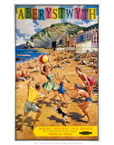 Aberystwyth, BR (WR), c.1960 Posters by Harry Riley