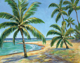 Tropical Beach Plakater af Todd Williams