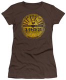 Juniors: Sun Records-Sun University Distressed T-Shirt