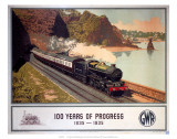 100 Years of Progress, 1835-1935, GWR, c.1935 Poster
