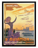 Grande Semaine d'Aviation de la Champagne, Reims, France, c.1909 Prints