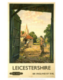 Leicestershire, BR, c.1950s Prints
